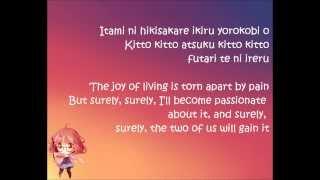 Repeat youtube video [Minori Chihara][Kyoukai no Kanata op FULL] Kyoukai no Kanata- Romaji & English