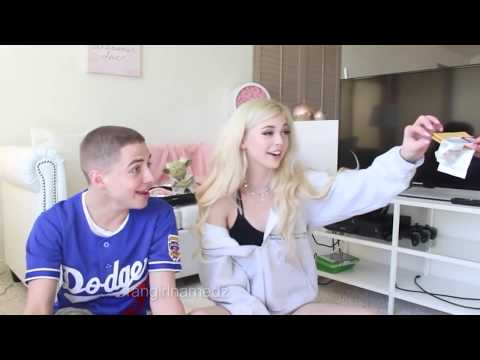 TRYING FOOD FROM AROUND THE WORLD  Loren Gray ft Bad Zach deleted