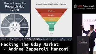 #HITBCyberWeek #CommSec Hacking The 0day Market - Andrea Zapparoli Manzoni