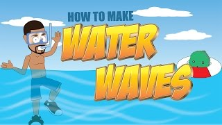 How to make water  waves in Anime Studio - MOHO Pro