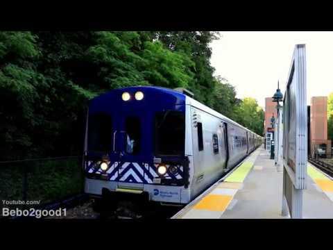 Metro-North Harlem Line Trains at Brewster, NY RR