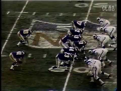 1969 NFL Championship Cleveland Browns @ Minnesota Vikings