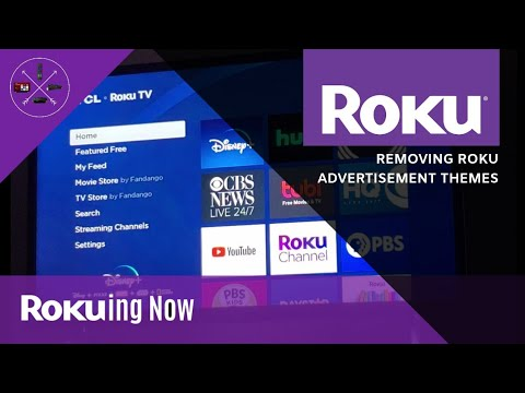 How To: Removing Roku Advertisement Themes