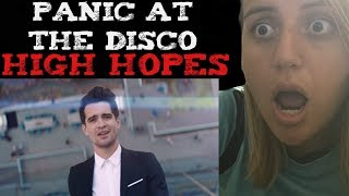 Panic! At The Disco - High Hopes (Official Music Video) Reaction