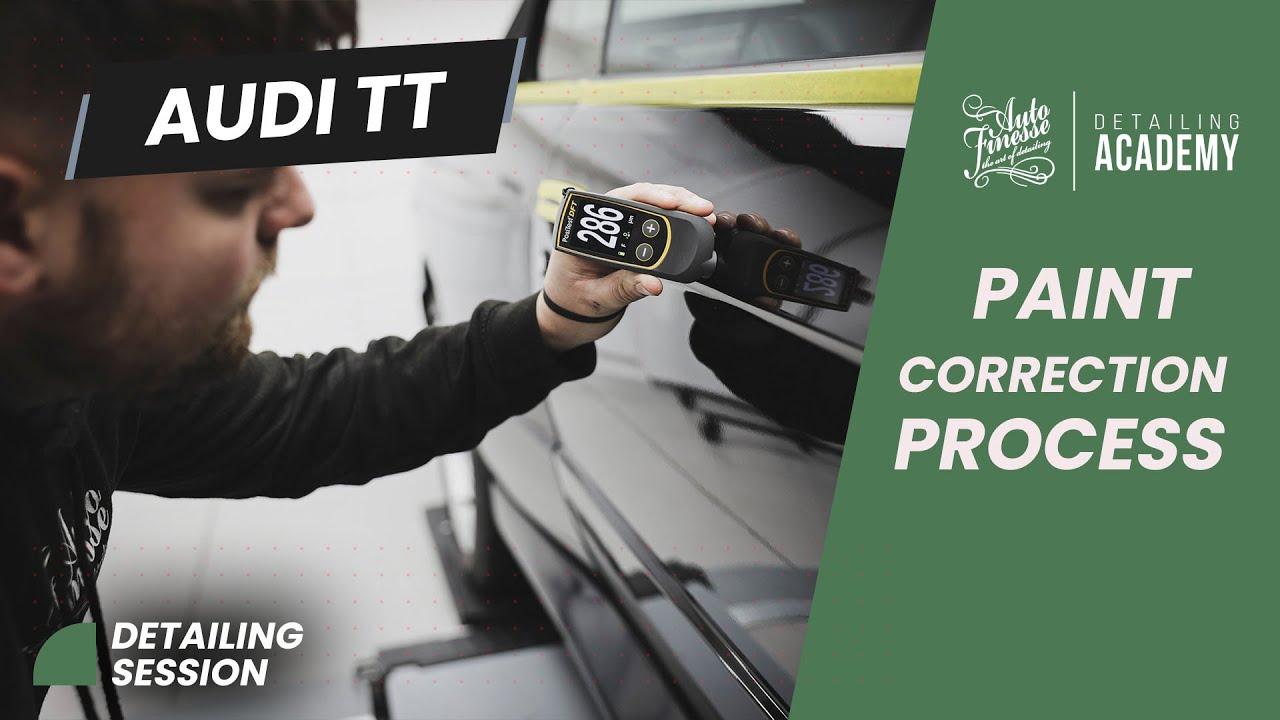 Auto Finesse - Audi TT paint correction process.