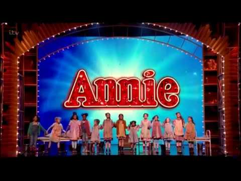 Annie West End On Royal Variety Performance