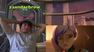 Star Wars Rebels 3x14  - Trials of the Darksaber - Reaction!!!!
