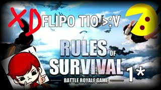 Rules of survival 1* La copia del playerunknown's battlegrounds pero para android :v