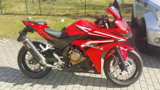 2016 Honda CBR500R Upgrades/Mods Finally Finished With 5km on the bike!