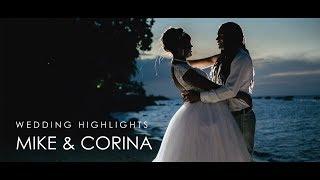 Gambar cover Wedding highlights - Mike & Corina
