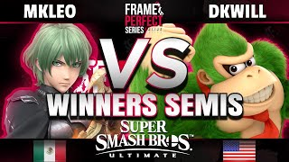 FPS Online Winners Semis - MkLeo (Byleth) vs DKwill (Donkey Kong)