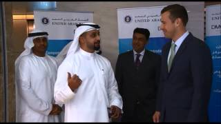 Inauguration of United Arab Bank at Almas Tower, DMCC, Jumeirah Lakes Towers