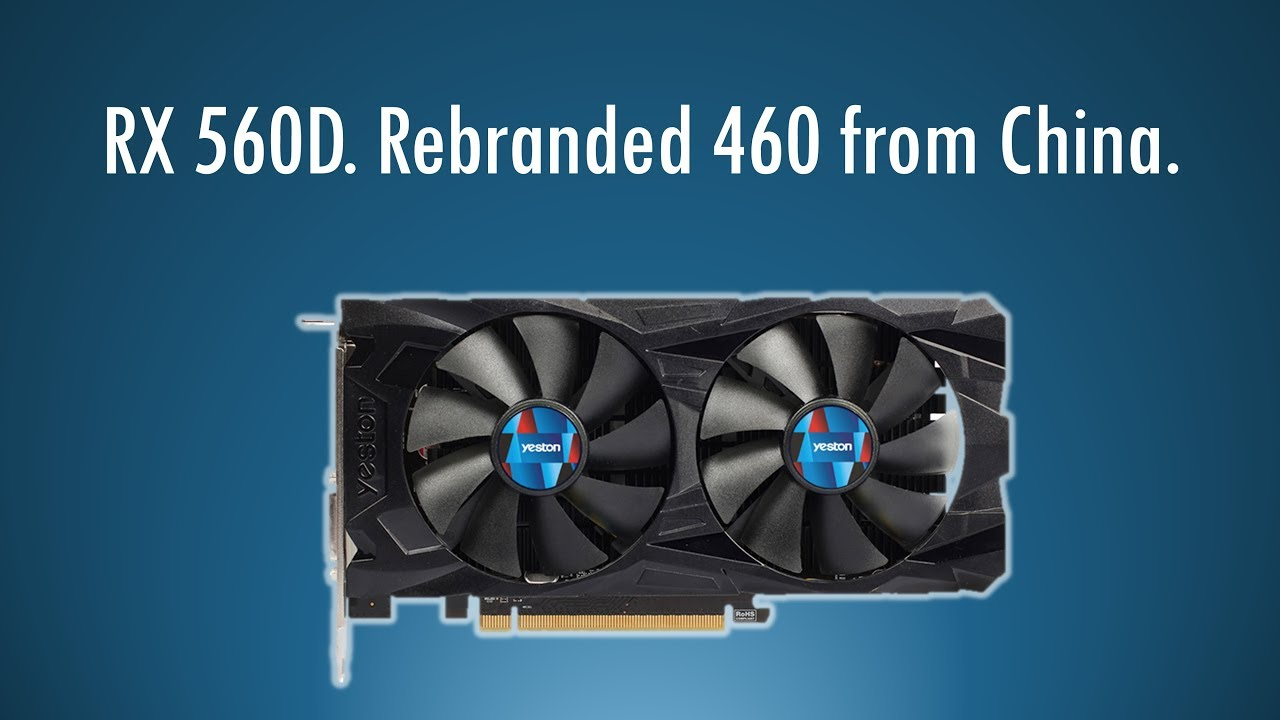 AMD Radeon RX 560 D vs GTX 1050 and GT 1030 on i5-2400