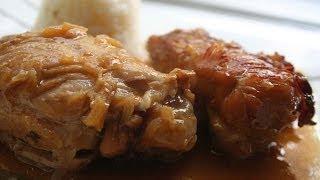 Receta De Pollo En Salsa Borracha /  Recipe Of Chicken In Drunk Sauce