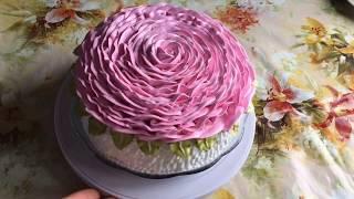"""Торт """" Роза"""" )) Cake """"Rose""""))"""