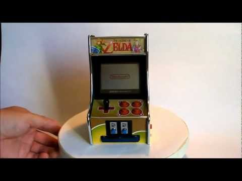 Mini borne d'arcade a base d'un console nintendo GBA SP - YouTube