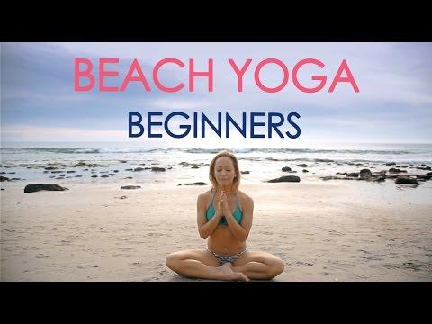 Beach Yoga for Beginners