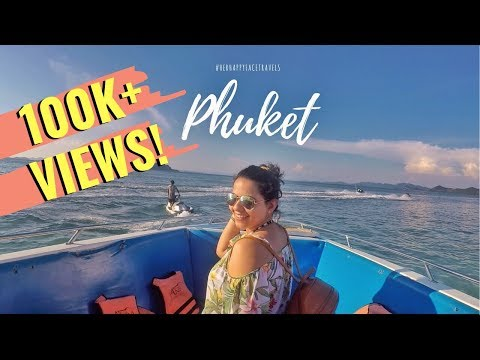 #RidhiVlogs – Phuket Vlog – RIP my toe nail, Phi Phi Island, Bangla Street