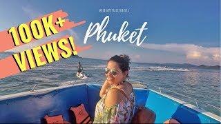 #RidhiVlogs - Phuket Vlog - RIP my toe nail, Phi Phi Island, Bangla Street