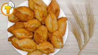 Жареные пирожки с картошкой. (Пошаговый рецепт).