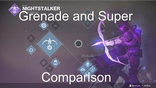 Nightstalker Grenade Breakdown and Super Comparison
