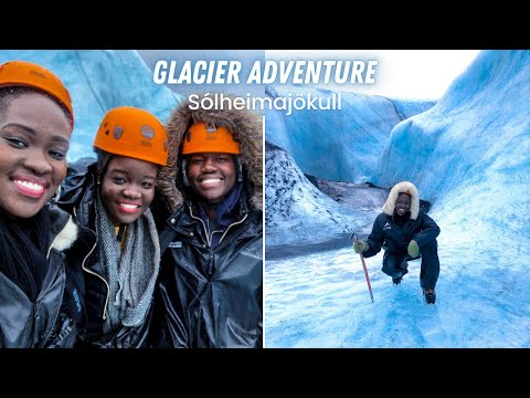 🇮🇸 EXTREME GLACIER ADVENTURE!!! - SÓLHEIMAJÖKULL!   A DAY IN MY LIFE IN ICELAND   Tabitha Laker