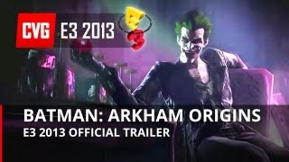 Batman: Arkham Origins gameplay trailer E3 2013