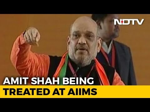 BJP Chief Amit Shah Down With Swine Flu, Being Treated At Delhi's AIIMS