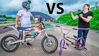 GAME OF BIKE - BMX VS DIRT BIKE