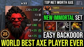 How to Ez Backdoor by World Best Axe Player with Ultra Rare Immortal Red Hulk Kickboxing Ez 27Kills