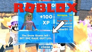 The Better Snow Queen Is?! - Roblox Destroy The Snow Queen