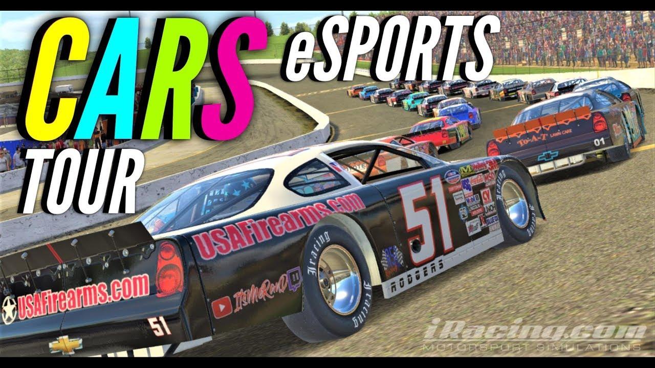 Podium eSports CARS Late Model Tour Wk 13 @ Martinsville - iRacing