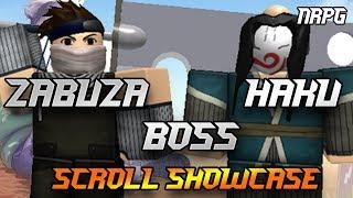 Haku + Zabuza Boss | ICE DRAGON - HIDDEN MIST Scrolls | Naruto RPG - Roblox