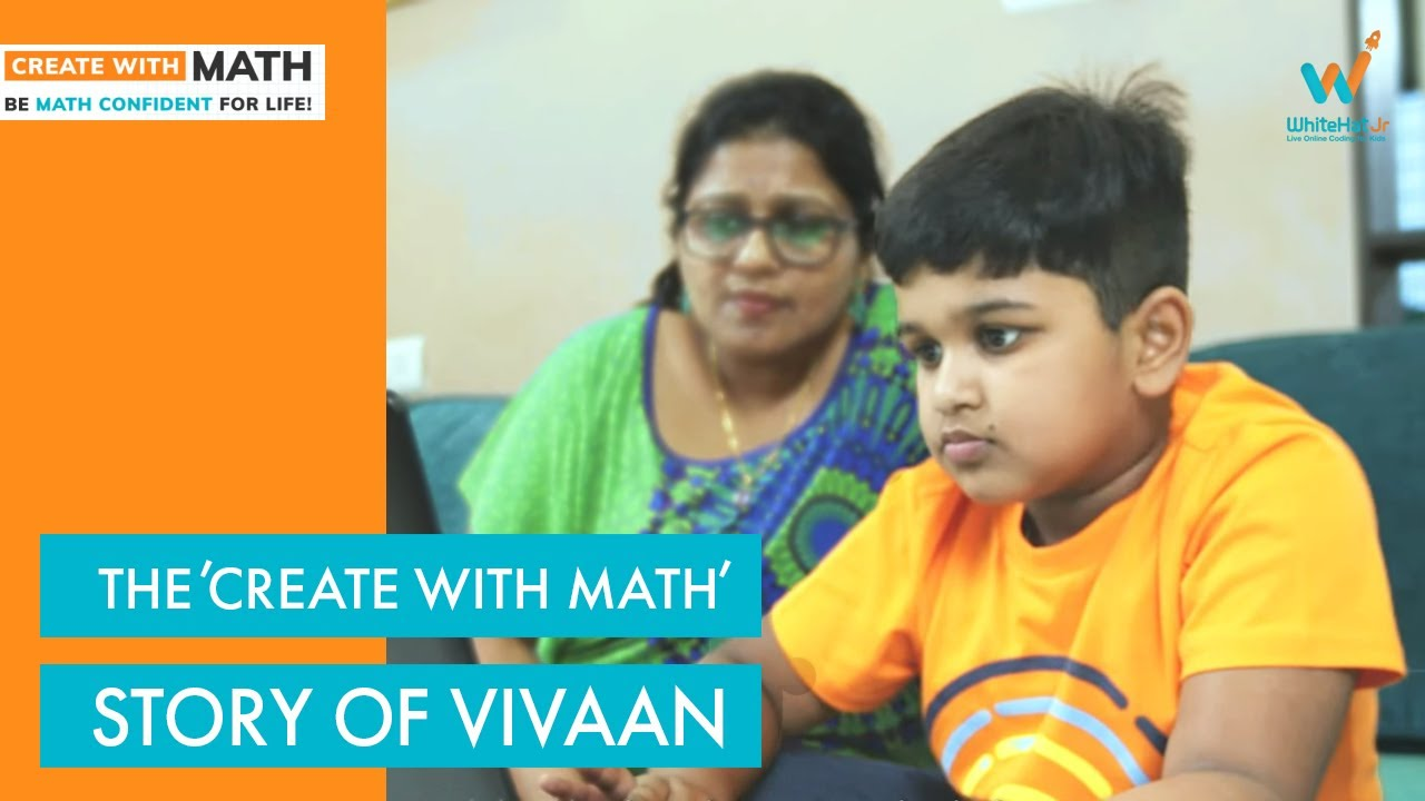 'Create With Math' Curriculum Strengthens The Basics   WhiteHat Jr