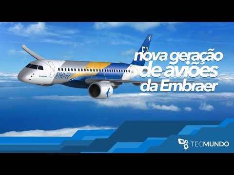 Conheça A Nova Geração De Aviões Da Embraer - TecMundo