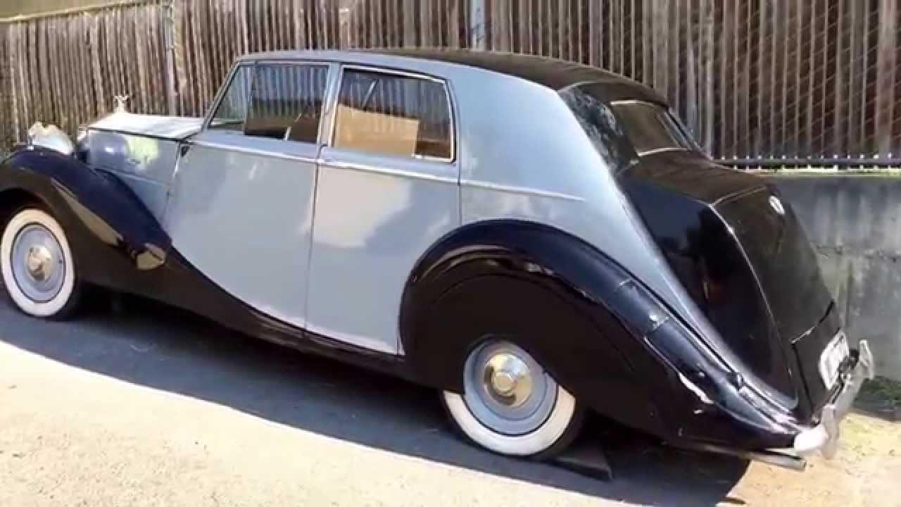 Rolls Royce Limo >> 1947 Rolls Royce Silver Wraith - YouTube