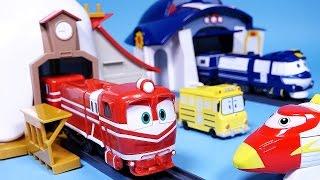 로봇트레인 RT 케이 알프 하우스, 또봇 트레인히어로 장난감 Robot Trains, Train heroes toys