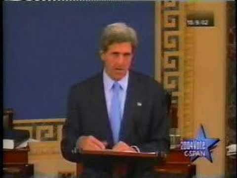 John Kerry (war with Iraq) part 2 of 2
