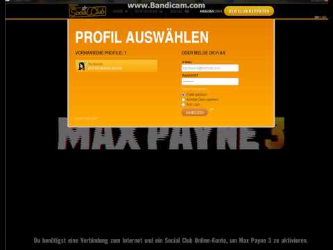 Screencast für Rockstar-Support - Max Payne 3