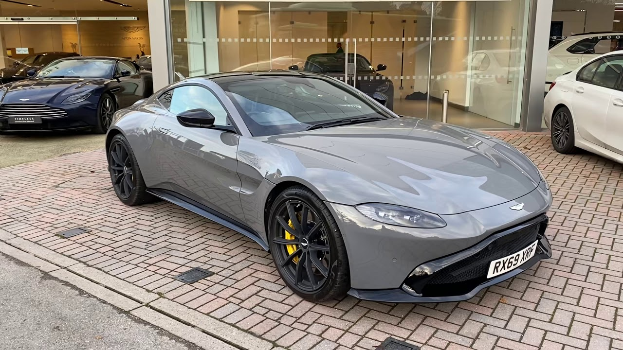 Aston Martin Vantage In China Grey Youtube