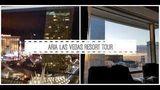 aria resort and casino tour 2015 las vegas