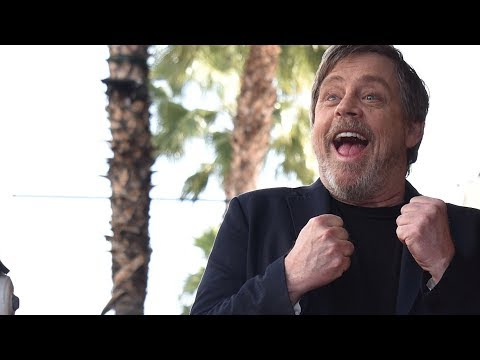 Mark Hamill  Hollywood Walk of Fame  Full Speech