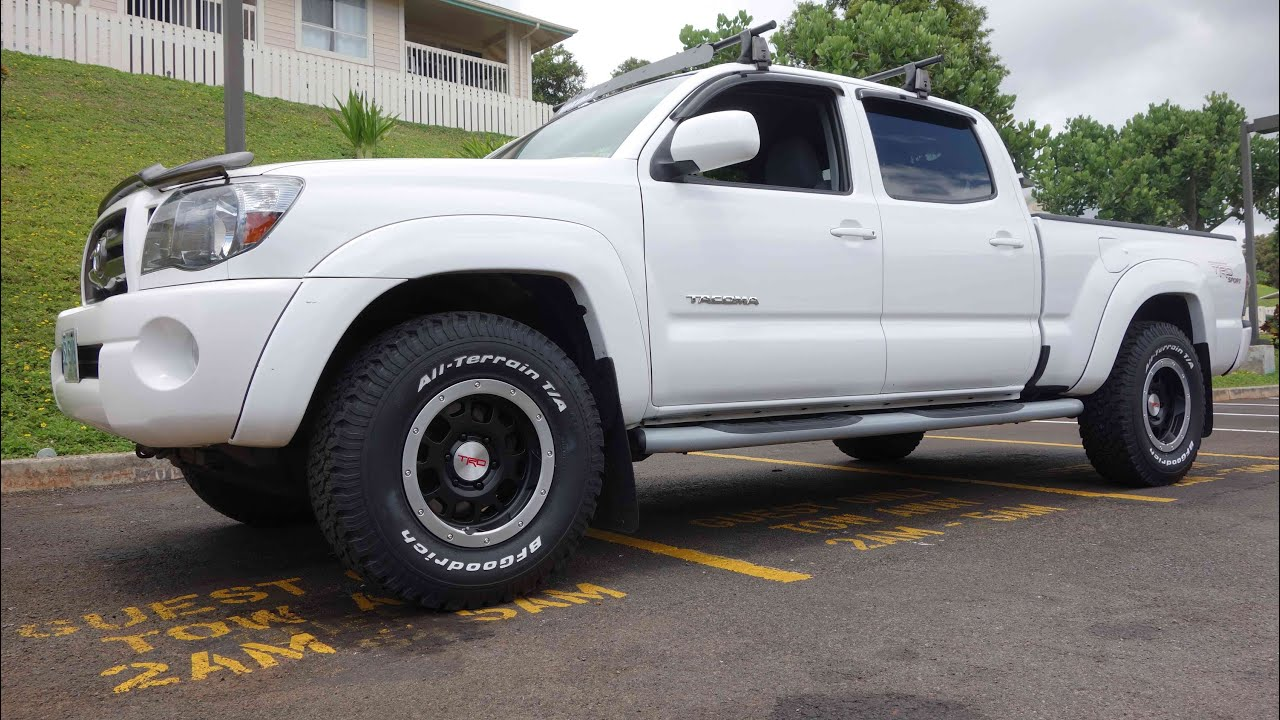 toyota tacoma with baja wheels youtube. Black Bedroom Furniture Sets. Home Design Ideas