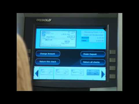 How to deposit checks in our upgraded ATMs