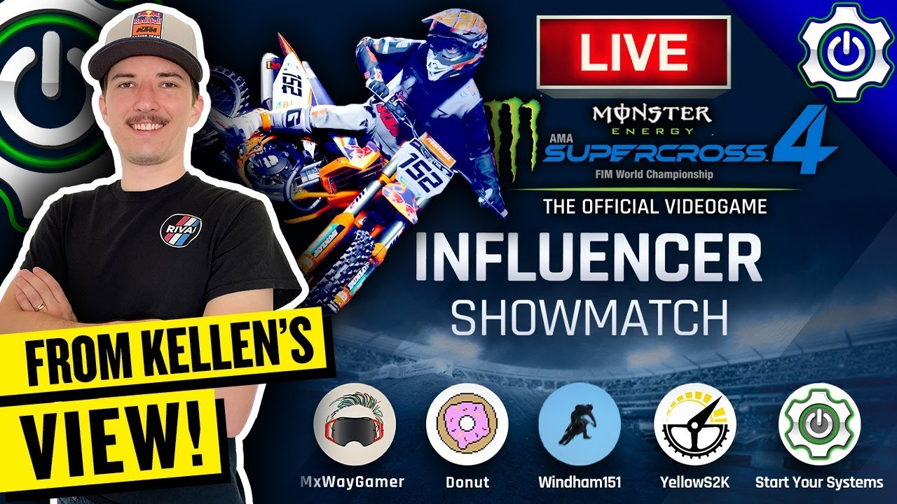 Monster Energy Supercross 4 - YouTuber Tournament