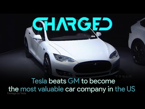 Tesla beats GM to become the most valuable car company in US