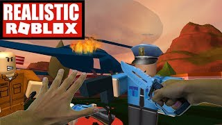Realistic Roblox - ESCAPING ROBLOX JAIL IN REAL LIFE! ROBLOX JAILBREAK