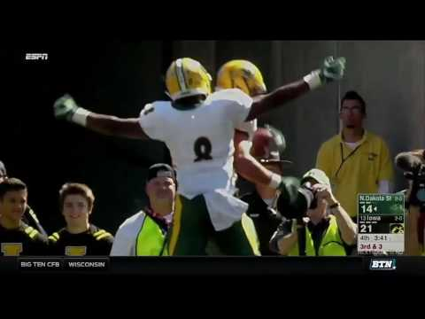 North Dakota State at Iowa - Football Highlights