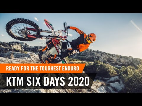 Ready for the toughest ENDURO challenges - the KTM SIX DAYS 2020 | KTM EXC 2020