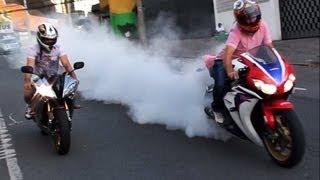 Motos esportivas acelerando em Curitiba - Parte 12